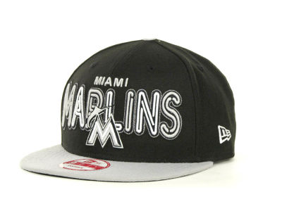 Miami Marlins MLB Retro Strapback 9FIFTY Cap Hats