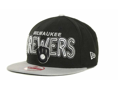 Milwaukee Brewers New Era MLB Retro Strapback 9FIFTY Cap Hats