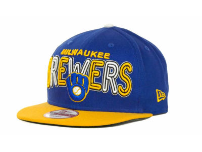 Milwaukee Brewers MLB Retro Strapback 9FIFTY Cap Hats