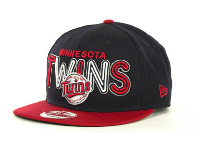 Minnesota Twins MLB Retro Strapback 9FIFTY Cap Hats