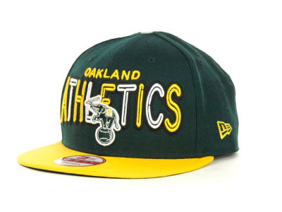 Oakland Athletics MLB Retro Strapback 9FIFTY Cap Hats