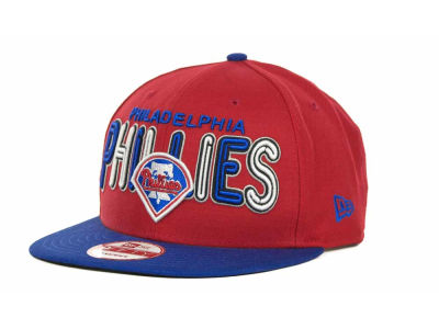 Philadelphia Phillies MLB Retro Strapback 9FIFTY Cap Hats