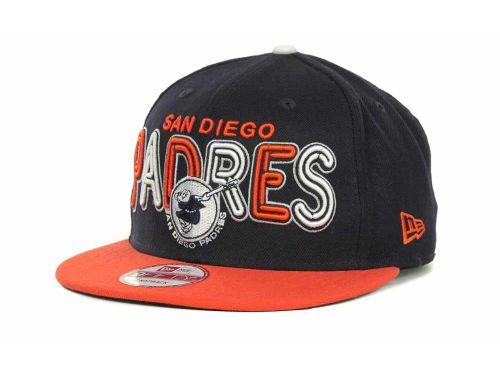 San Diego Padres New Era MLB Retro Strapback 9FIFTY Cap Hats