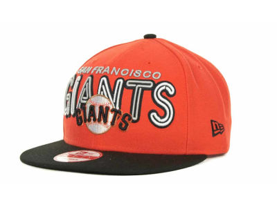 San Francisco Giants MLB Retro Strapback 9FIFTY Cap Hats