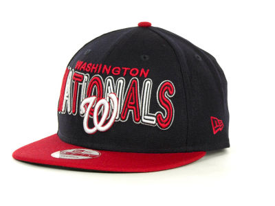 Washington Nationals MLB Retro Strapback 9FIFTY Cap Hats