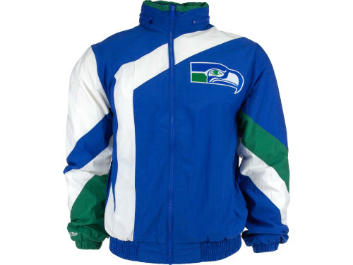Seattle Seahawks Mitchell and Ness Tback Seahawks Rain Jacket