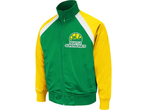 Seattle SuperSonics Mitchell and Ness NBA TBack Track Jacket