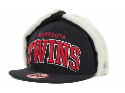 Minnesota Twins New Era MLB Dog Ear Snapback 9FIFTY Cap Hats