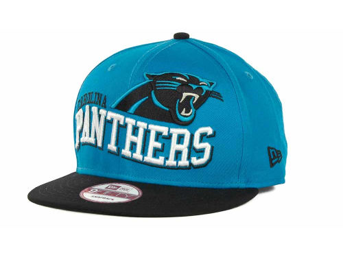 Carolina Panthers New Era NFL Wave Snapback 9FIFTY Cap Hats