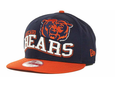 Chicago Bears NFL Wave Snapback 9FIFTY Cap Hats