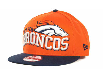 Denver Broncos NFL Wave Snapback 9FIFTY Cap Hats
