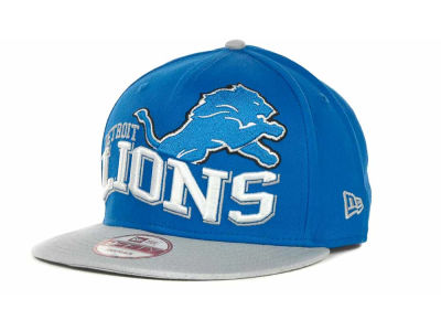 Detroit Lions NFL Wave Snapback 9FIFTY Cap Hats