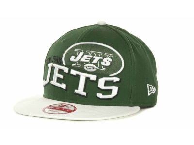 New York Jets NFL Wave Snapback 9FIFTY Cap Hats