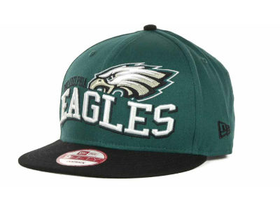 Philadelphia Eagles NFL Wave Snapback 9FIFTY Cap Hats