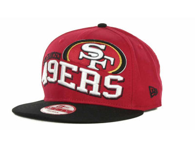 San Francisco 49ers NFL Wave Snapback 9FIFTY Cap Hats