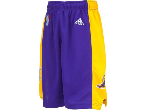 Los Angeles Lakers adidas NBA Youth Replica Shorts