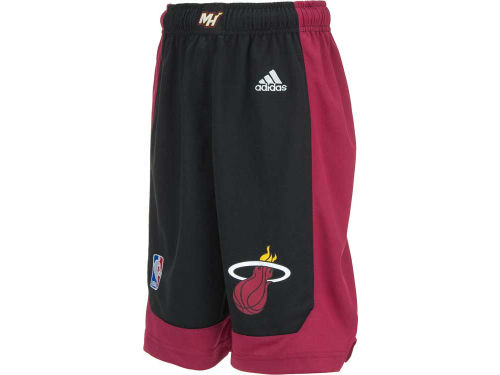 Miami Heat adidas NBA Youth Replica Shorts