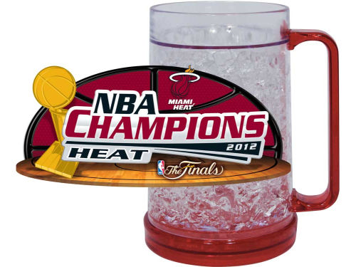 Miami Heat 2012 NBA Champs Freezer Mug