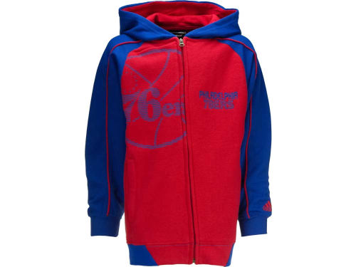Philadelphia 76ers Outerstuff NBA Youth Showtime Full Zip Hoodie