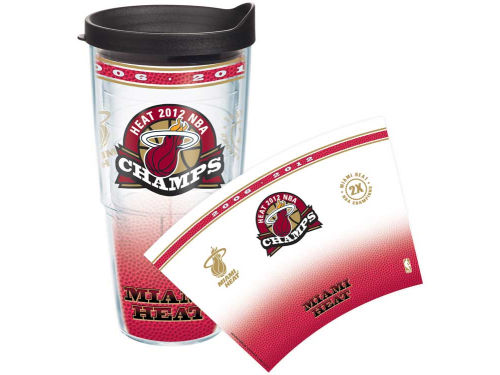 Miami Heat Tervis Tumbler 2012 NBA Champs 24oz Wrap TT
