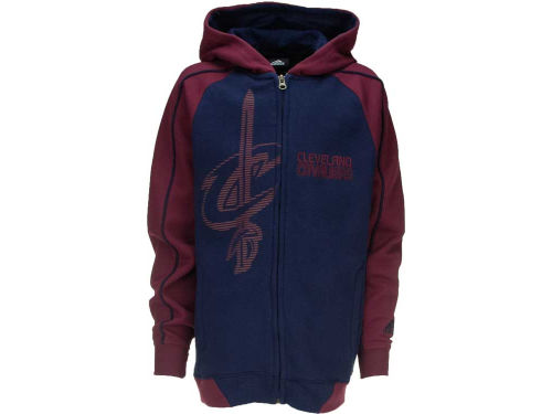 Cleveland Cavaliers Outerstuff NBA Youth Showtime Full Zip Hoodie
