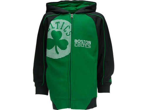 Boston Celtics Outerstuff NBA Youth Showtime Full Zip Hoodie