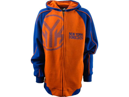 New York Knicks Outerstuff NBA Youth Showtime Full Zip Hoodie