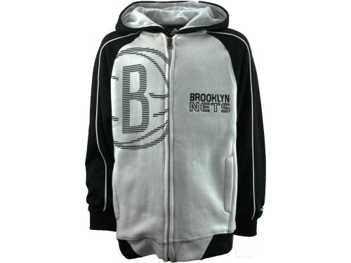 Brooklyn Nets Outerstuff NBA Youth Showtime Full Zip Hoodie