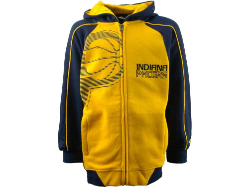 Indiana Pacers Outerstuff NBA Youth Showtime Full Zip Hoodie