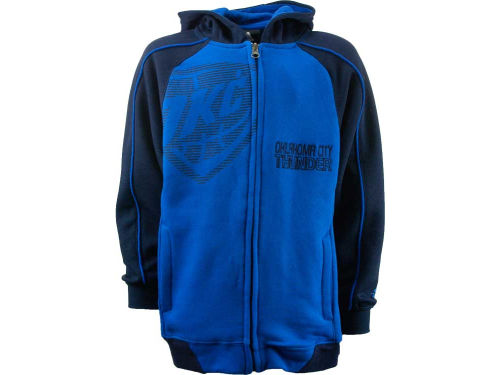 Oklahoma City Thunder Outerstuff NBA Youth Showtime Full Zip Hoodie