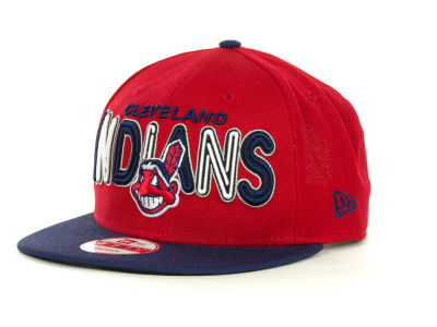 Cleveland Indians MLB Retro Strapback 9FIFTY Cap Hats