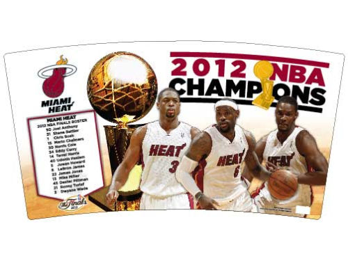 Miami Heat Wincraft 2012 NBA Champs Wastebasket