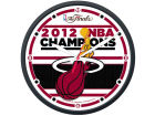 Miami Heat Wincraft 2012 NBA Champs Round Clock Home Office & School Supplies