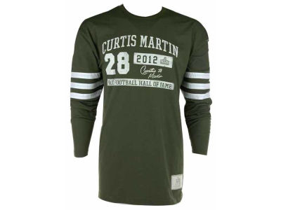 NFL Hall Of Fame Inductee Long Sleeve T-Shirt - Curtis Martin