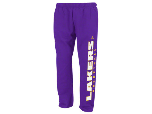 Los Angeles Lakers adidas NBA Youth Baze Fleece Pant