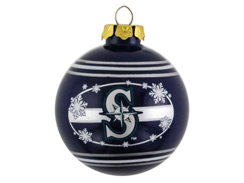 Seattle Mariners Team Beans 2010 Glass Ball Ornament