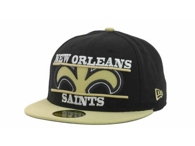 New Orleans Saints NFL Logo Zoom 59FIFTY Cap Hats