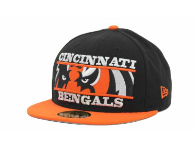 Cincinnati Bengals NFL Logo Zoom 59FIFTY Cap Hats