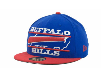 Buffalo Bills NFL Logo Zoom 59FIFTY Cap Hats