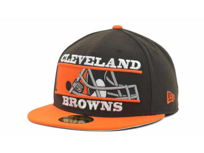 Cleveland Browns NFL Logo Zoom 59FIFTY Cap Hats