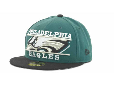 Philadelphia Eagles NFL Logo Zoom 59FIFTY Cap Hats