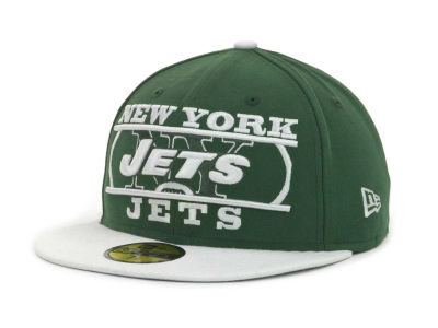 New York Jets NFL Logo Zoom 59FIFTY Cap Hats