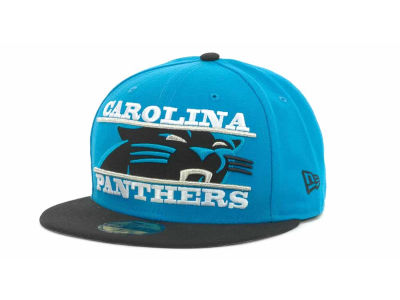 Carolina Panthers NFL Logo Zoom 59FIFTY Cap Hats