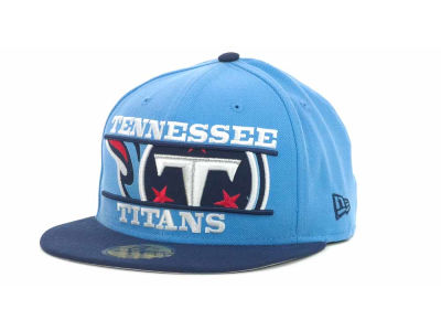 Tennessee Titans NFL Logo Zoom 59FIFTY Cap Hats