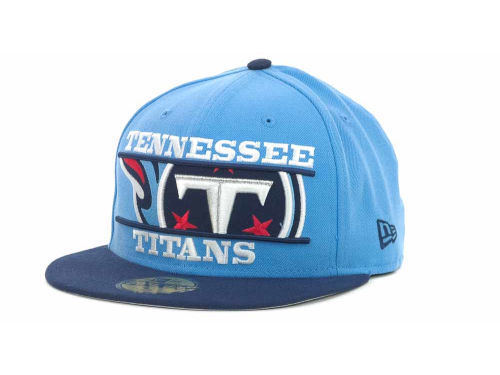Tennessee Titans New Era NFL Logo Zoom 59FIFTY Cap Hats