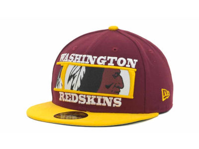 Washington Redskins NFL Logo Zoom 59FIFTY Cap Hats