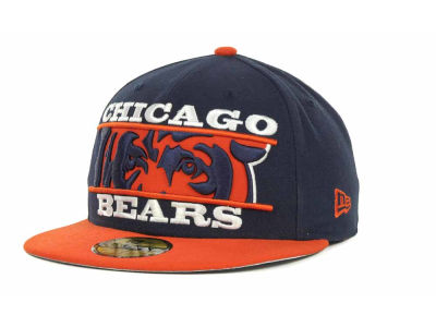 Chicago Bears NFL Logo Zoom 59FIFTY Cap Hats