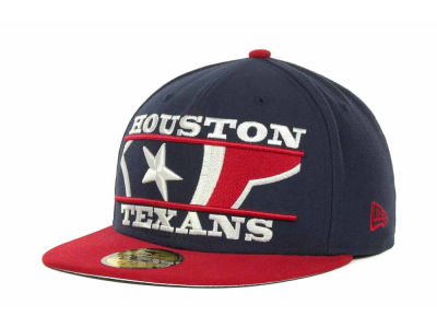 Houston Texans NFL Logo Zoom 59FIFTY Cap Hats
