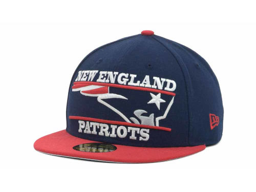 New England Patriots New Era NFL Logo Zoom 59FIFTY Cap Hats