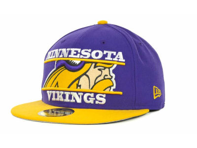 Minnesota Vikings NFL Logo Zoom 59FIFTY Cap Hats